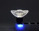 چراغ خواب های ال ای دی سه بعدی